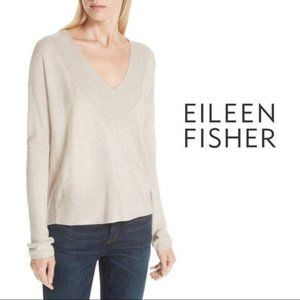Eileen Fisher Silk Oversized Sweater XS